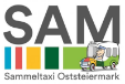 Logo Taxi SAM Sammeltaxi Oststeiermark